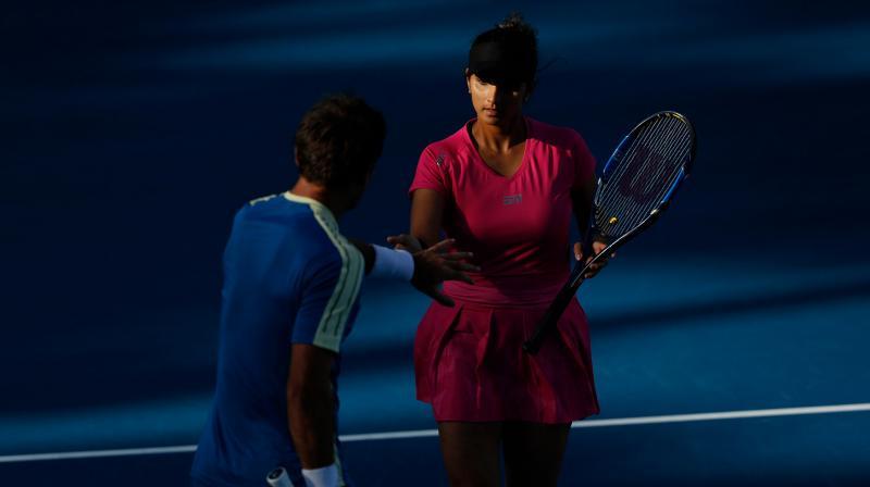 Australian Open: Sania/Dodig v/s Bopanna/Dabrowski