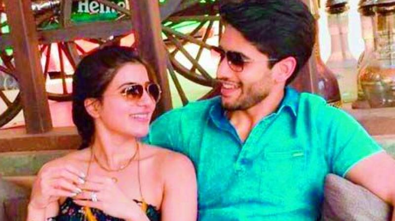 Is this when Samantha and Naga Chaitanya are getting engaged?