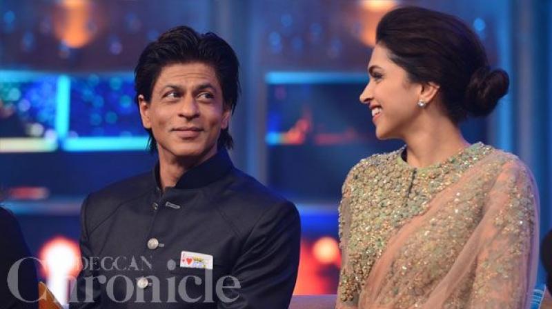Deepika disappoints Shah Rukh for rumoured beau Ranveer?