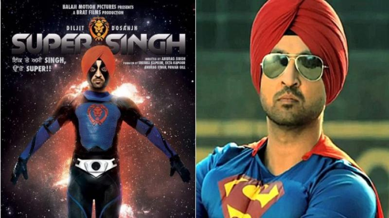 Here's the first look of Diljit Dosanjh as a Punjabi superhero!