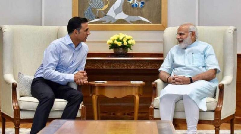 Akshay Kumar engaged in a delightful conversation with Prime Minister Narendra Modi