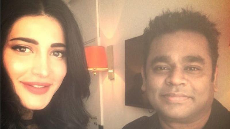 Shruti Haasan debuts at Cannes 2017 with 'Sangamithra'