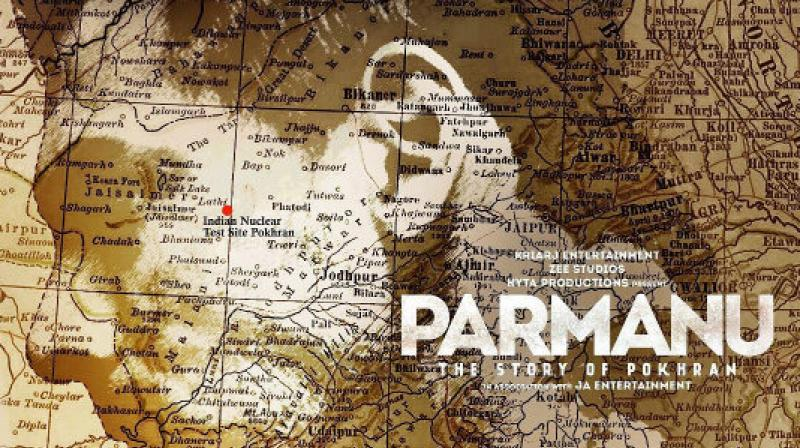 John Abraham unveils first poster of 'Parmanu'