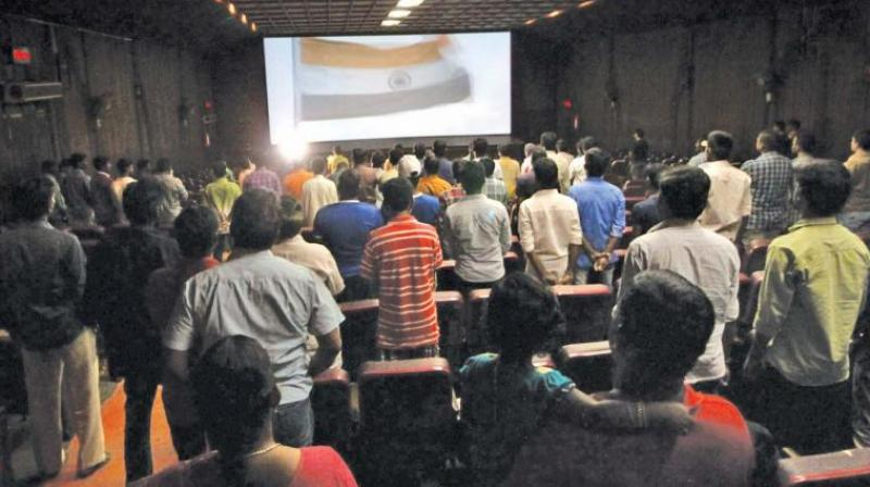 J&K boys held for not standing up at theatre during anthem