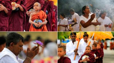 Buddha Purnima marks Buddha's birth, enlightenment and death where devout followers offer prayers. (Photo: AP)