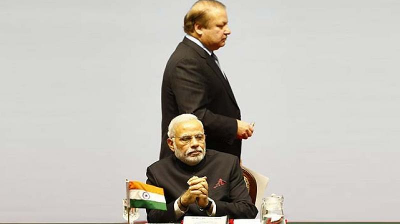 Prime Minister Narendra Modi and his Pakistani counterpart Nawaz Sharif (Photo: AP/File)