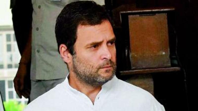 Demonetisation is biggest scandal in India: Rahul Gandhi