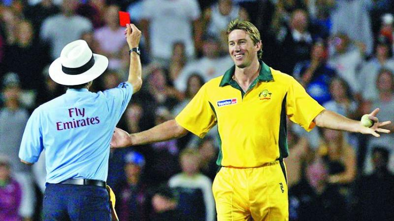 Image result for red card in cricket