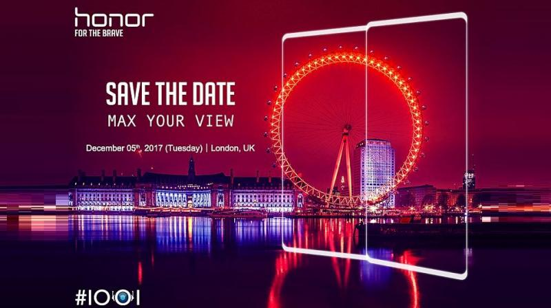 The teaser also suggests that the smartphone will have a dual camera setup and Huawei's AI integration.