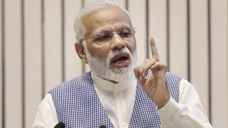 PM Modi lashes out at critics who spread 'feeling of pessimism'