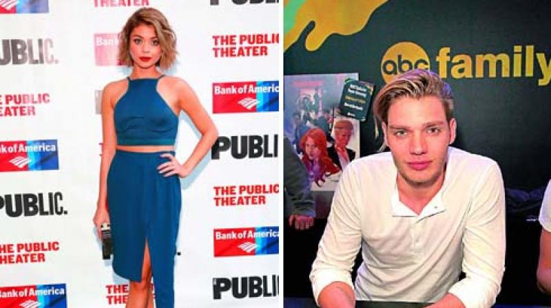 Sarah Hyland Breaks Up With Dominic Sherwood After Two Years