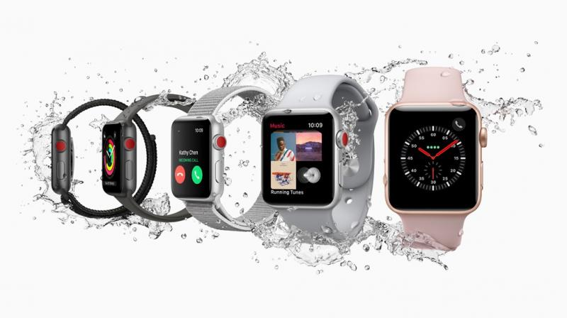 Apple said that all four major US carriers will offer service for the watch, and AT&T Inc and T-Mobile US Inc both said it would cost an extra $10 a month.