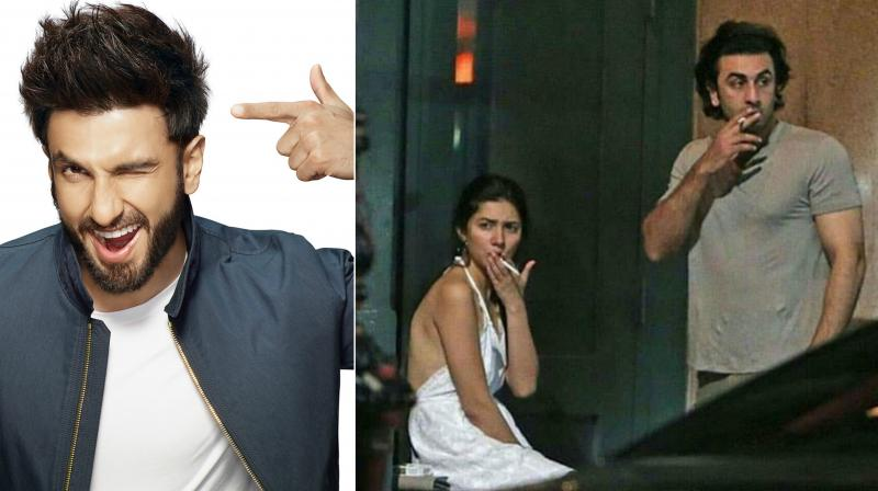 Ranbir Kapoor and Mahira Khan recently made headlines when they were snapped sharing a smoke in New York.