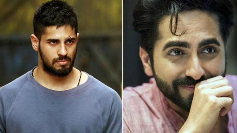 Sidharth Malhotra gets replaced with Ayushmann Khurrana in a quirky comedy film.