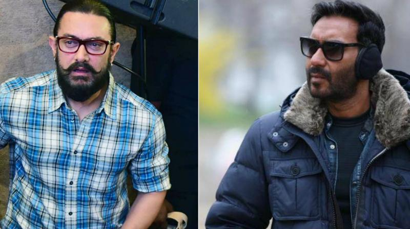 Aamir's Thugs Of Hindostan and Ajay's Total Dhamaal to clash on Diwali 2018?