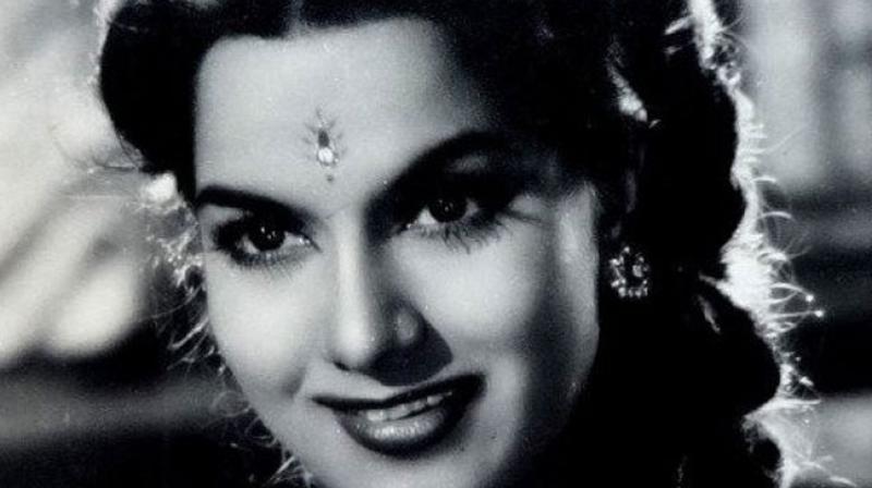 The actress had worked in films like 'Aar Paar' and 'Barsaat Ki Raat'.