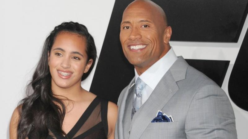 Dwayne Johnson's daughter chosen as 'Golden Globes Ambassador'