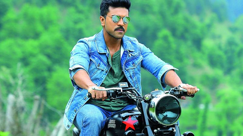 Ram Charan goes back in time