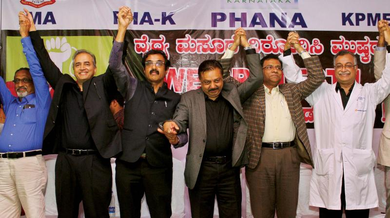 Karnataka: Private Doctors moved on indefinite strike