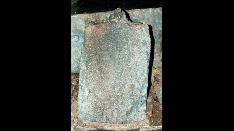 Stone inscriptions dating back to the 12th to 15th Century AD have been found neglected at Lord Uma Koppulingeswara temple at Palivela village of Kothapeta mandal in East Godavari.