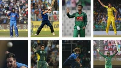 As the ICC Champions Trophy commences on June 1, here are some of the big players who can make a big impact in the eight-nation ICC event. (Photo: AP / AFP / BCCI)
