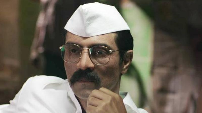 Arjun Rampal in a still from 'Daddy.'