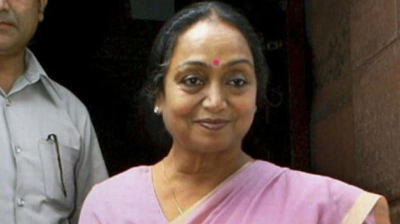Meira Kumar on Monday urged the members of the electoral college to heed their 'voice of conscience' and vote for an ideology that binds India. (Photo: PTI)