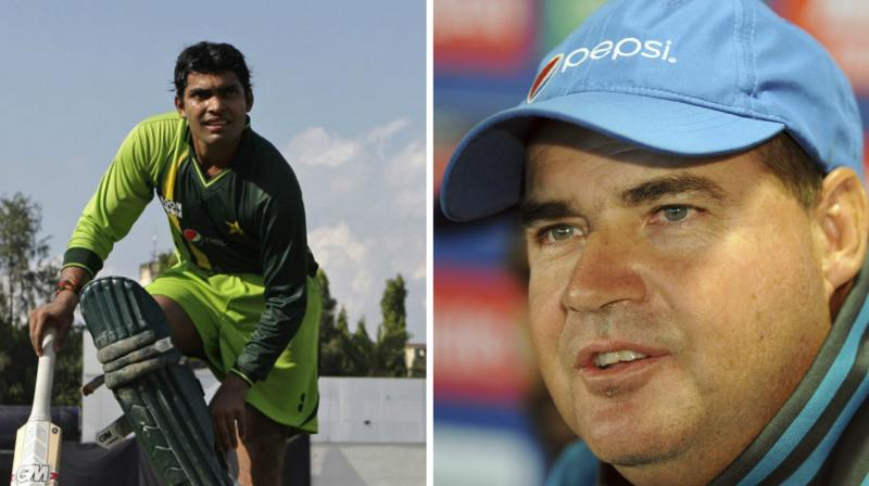 Relation between Umar Akmal and Mickey Arthur has not been ideal since last year when Pakistan toured Australia and the coach complained about the batsman's fitness levels. (Photo: AP)
