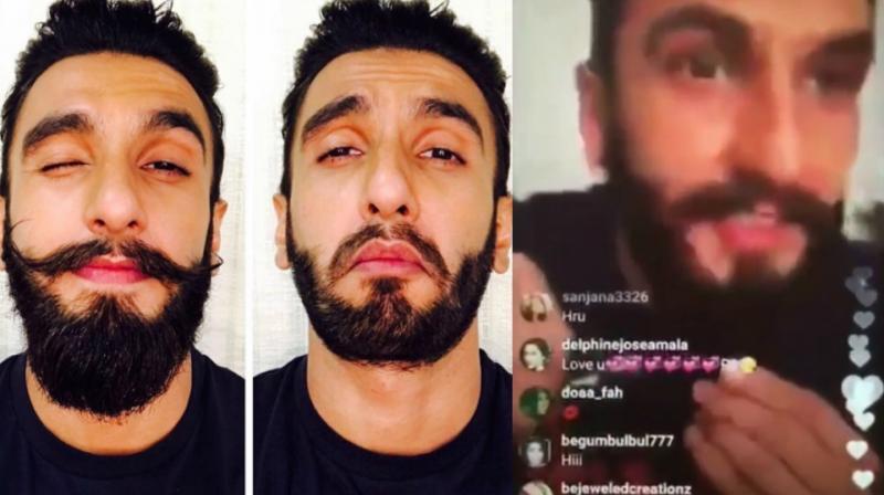 Ranveer Singh Chops Off His Beard To Portray Young Khilji In Padmavati