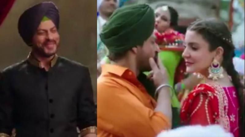 SRK as Sardar, Anushka as punjabi kudi are amazing in JHMS's Butterfly song teaser