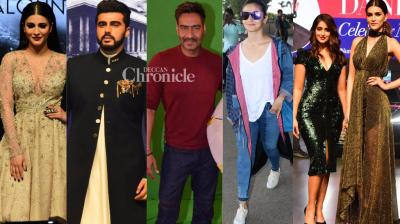 Bollywood stars were snapped at various locations in Mumbai as they stepped out for professional and personal reasons on Thursday. (Photo: Viral Bhayani)