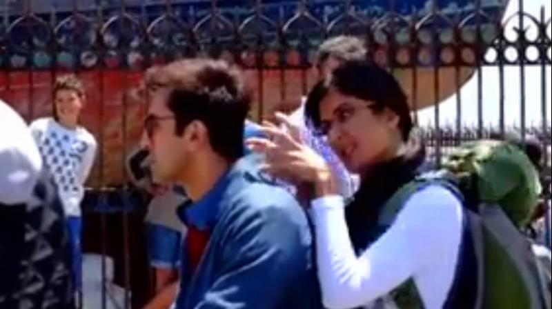 Katrina Kaif gives a sneak peek of Jagga Jasoos