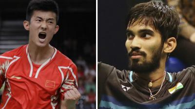 Playing in his third consecutive Super Series finals, Kidambi Srikanth takes on Chen Long in the title clash of the Australian Open Super Series. (Photo: AP)