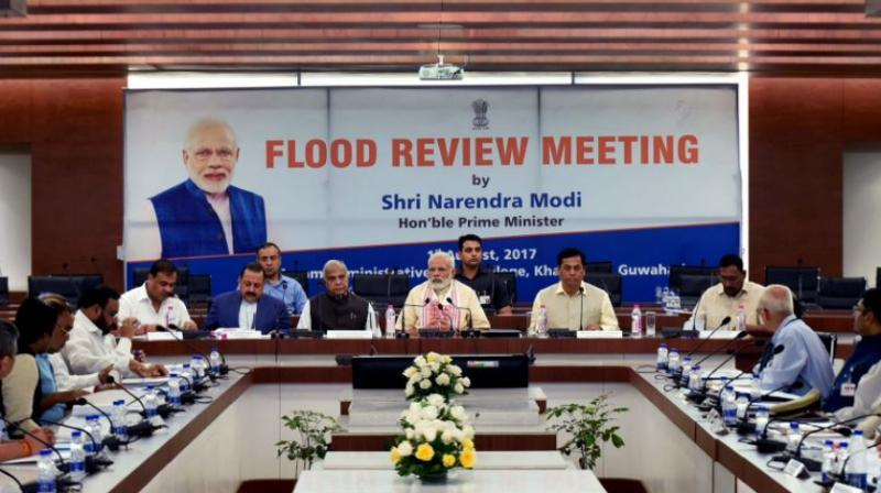 Northeast floods: PM announces Rs 2000 cr relief