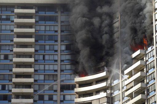 A fire broke out on Friday afternoon on the 26th floor of at the Marco Polo apartments, where 3 people were found dead, Fire Chief Manuel Neves said. The blaze spread to at least the 27th floor and several units, said Honolulu Fire Department spokesman Capt. David Jenkins.