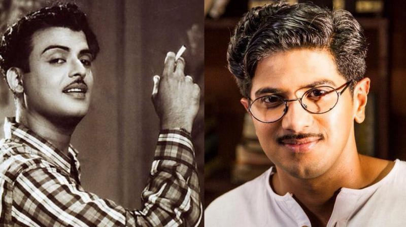 Mahanati Dulquer Salmaan To Play Gemini Ganesan In: Mollywood Heartthrob Dulquer Salmaan To Play Gemini