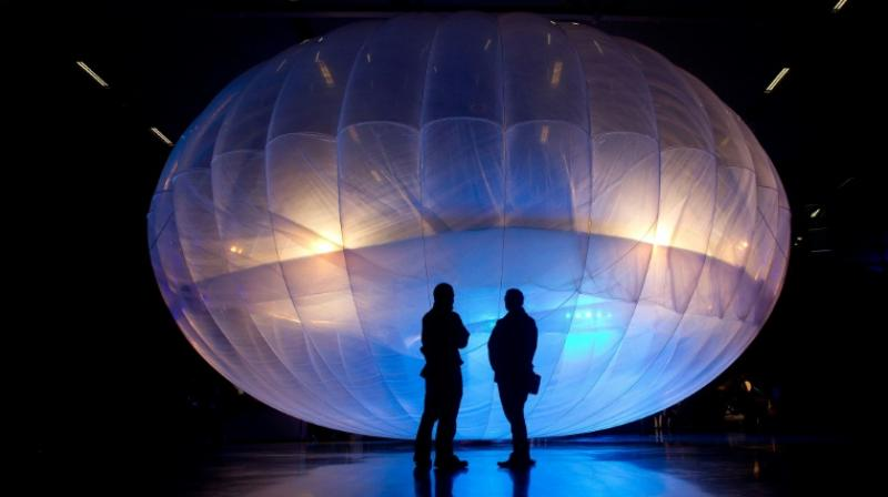 Project Loon's internet balloons form stratospheric clusters for targeted delivery