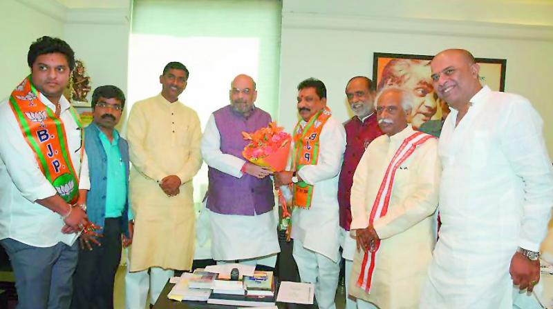 Amit Shah to come calling on May 11