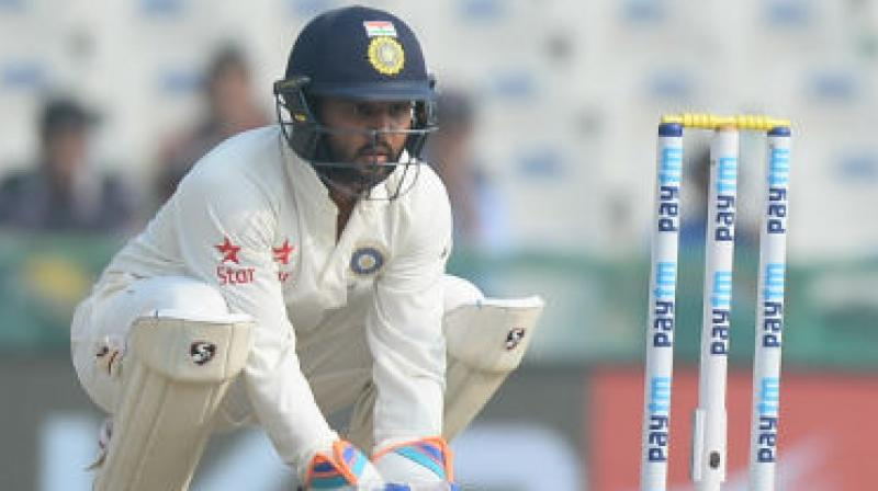 Parthiv made an impressive 42 and 67 not out in Mohali. (Photo: AFP)