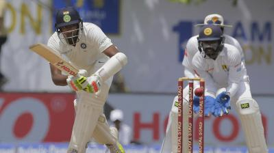 Ravichandran Ashwin fell three runs short of his fifty, as he departed for 47. (Photo: AP)