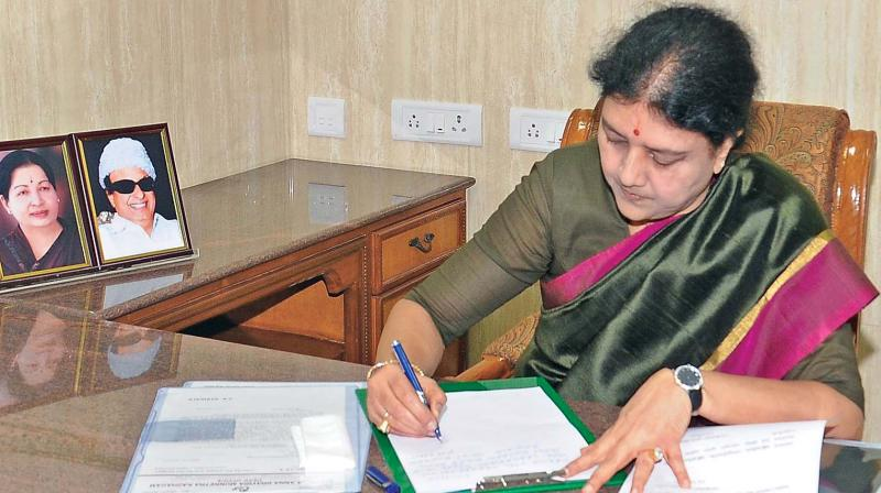 'Chinamma' Sasikala Natarajan Formally Takes Charge As AIADMK General Secretary