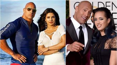 Here's why Priyanka is all praise for 'Baywatch' co-star Dwayne Johnson's daughter