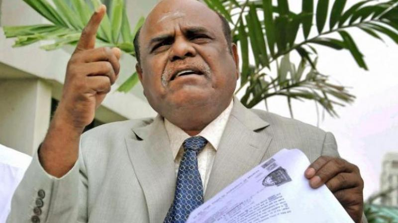 Calcutta High Court Judge C S Karnan. (Photo: PTI)