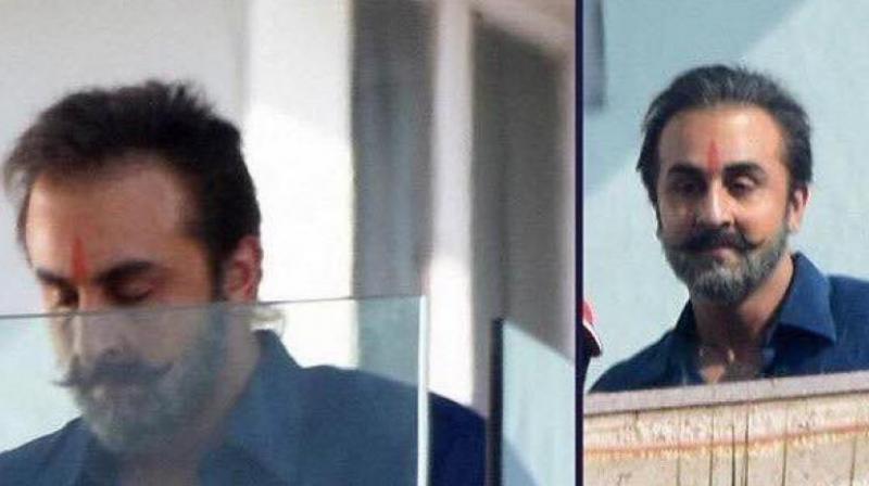 Image result for Ranbir Kapoor Sanjay Dutt Biopic