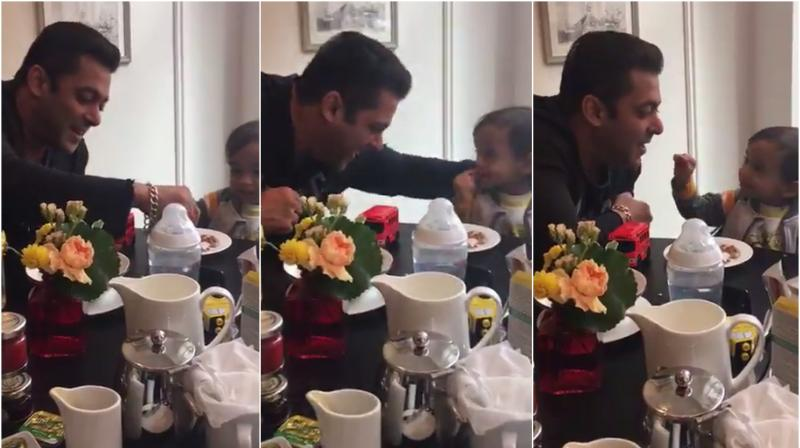 Mamu Salman Khan shares another adorable picture of nephew Ahil