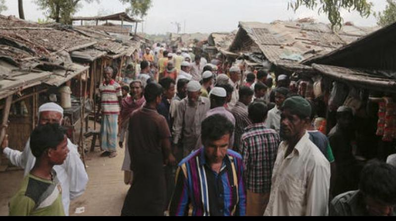 """He claimed that the threat perception from these Bangladeshis and Rohingyas """"who are criminals"""" has been increasing. (Photo: AFP)"""