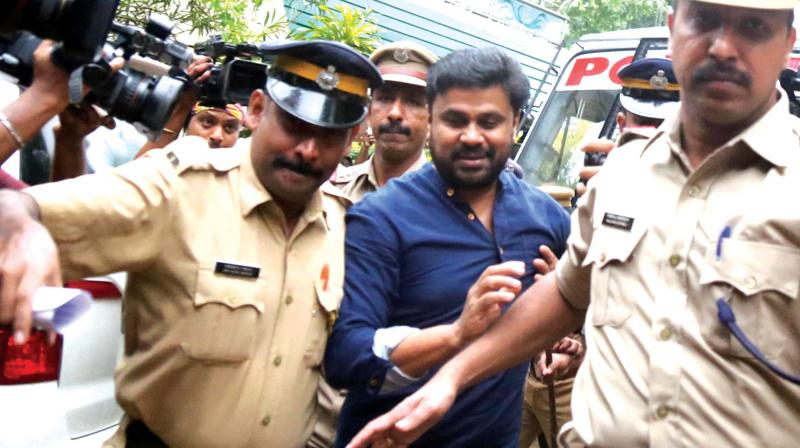 Malayali star Dileep arrested in Malayali actress molestation case