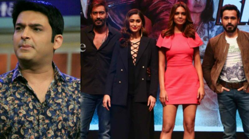 Baadshaho team leaves the sets of The Kapil Sharma Show