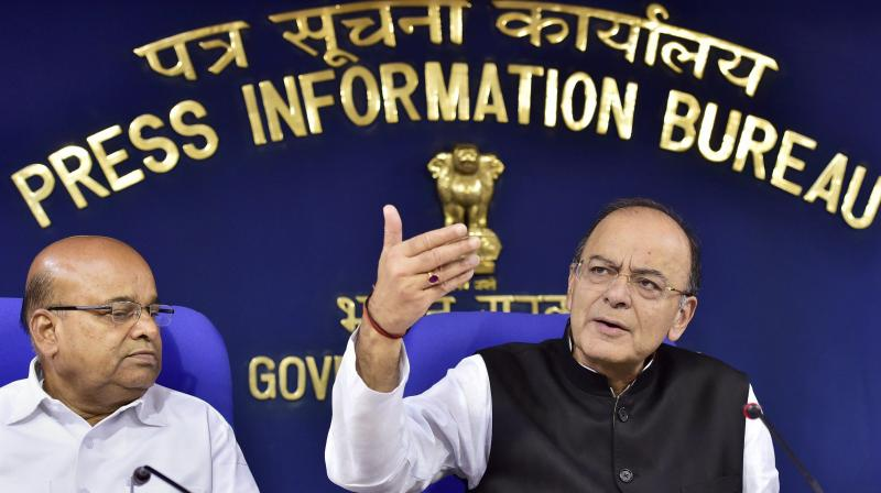 Finance Minister Arun Jaitley said private sector will have to pay up, or let someone else take over. (Photo: PTI)