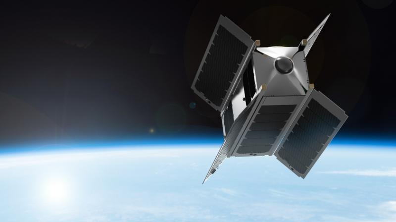 The VR satellite (Photo: SpaceVR)